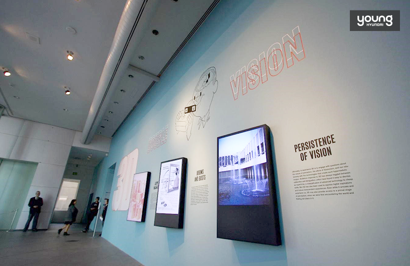 ▲ From the entrance, it is obvious that the exhibition is about active participation from visitors